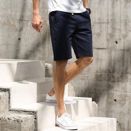 短裤男五分裤夏季韩版休闲裤子新款潮流宽松马裤青年男士七分裤