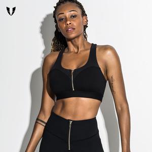 马甲线运动内衣女防震聚拢定型防下垂美背高强度速干健身跑步文胸