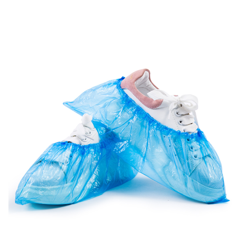 hs一次性鞋套脚套加厚塑料防滑耐磨鞋套雨天防水脚套鞋套