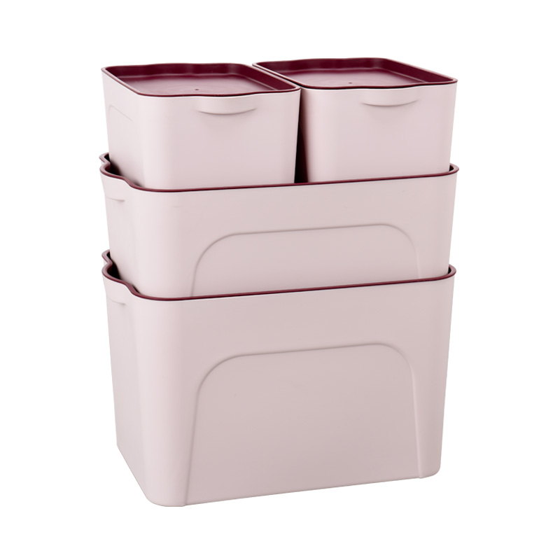 Plastic Storage Box Clothing Storage Box Wardrobe Desktop Size Storage Box  Snack Toy Bed Bottom Finishing Box