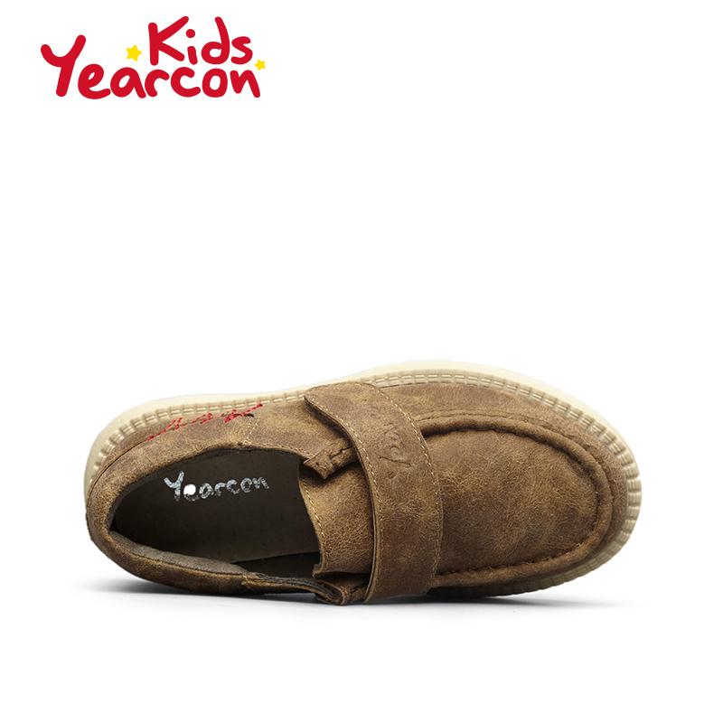 意尔康童鞋 2017春季新款皮鞋男女童中小童舒适透气潮流鞋产品展示图3