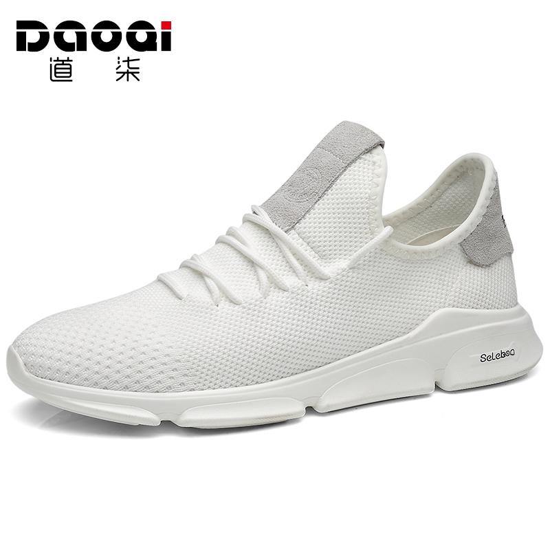 夏季鞋子男潮鞋休闲跑步运动鞋白色韩版百搭情侣小白鞋透气网鞋男