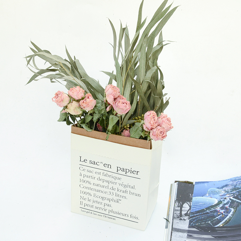 Dried rose ins dried flower bouquet decoration small fresh rose ...