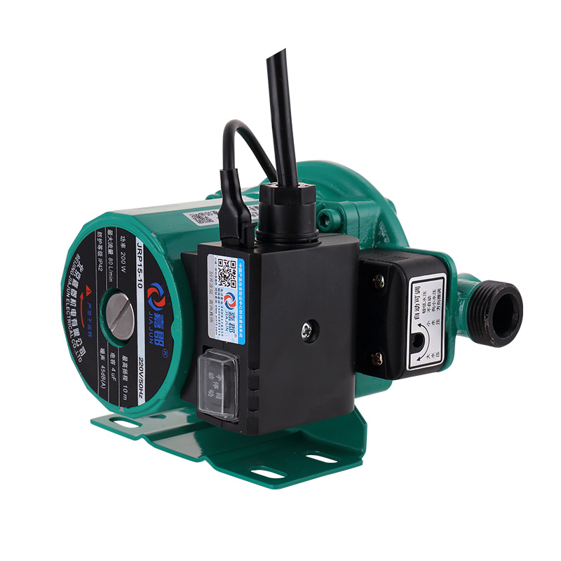 嘉郡全自动静音家用燃气电热水器家用太阳能自来水增压泵暖气泵