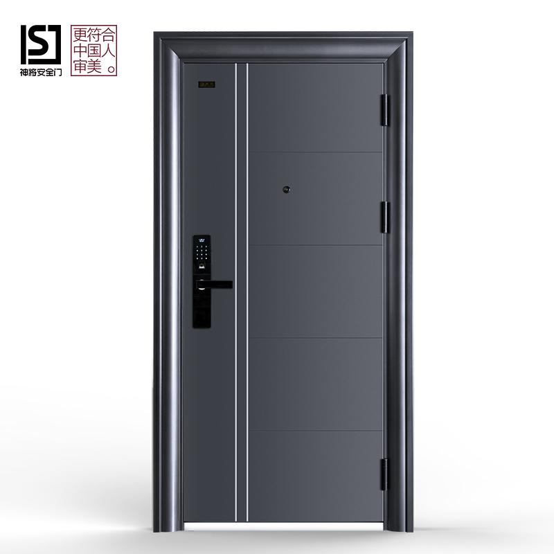 神将甲级防盗门进户安全门家用入户门钢质门单门子母门双色门定制