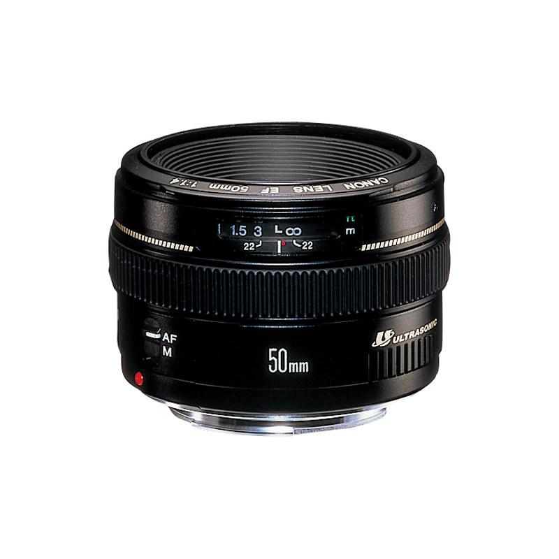 佳能EF 50mm f-1.4USM单反定焦镜头定焦大光圈背景虚化人像50 1.4