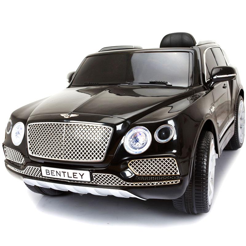 宾利儿童电动车四轮汽车小孩玩具车可坐人带遥控超大号宝宝电动车