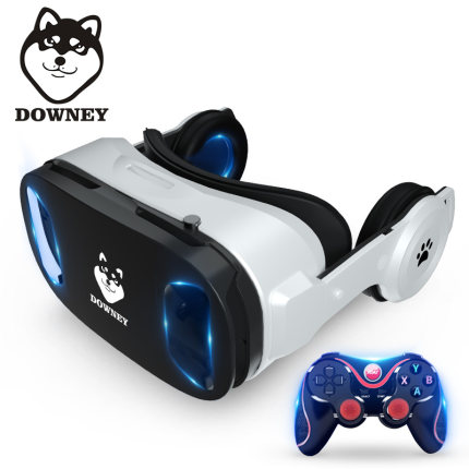 VR Glasses rv virtual reality 3d mobile phone dedicated ar video game console Huawei eye-wearing apple equipment helmet computer version