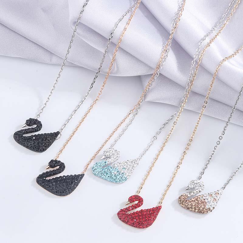 DEETHENS/ 跳动的心项链女款时尚锁骨链送女友生日礼物