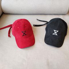 实拍,绒面,双带,棒球帽,带子,帽子,黑色,调节
