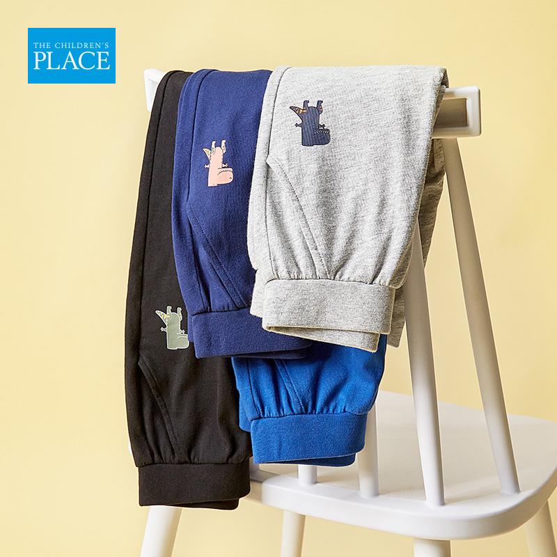 美国 The Children's Place 2020夏季新款 纯棉 男童运动裤 天猫优惠券折后¥59包邮(¥99-40)4色可选
