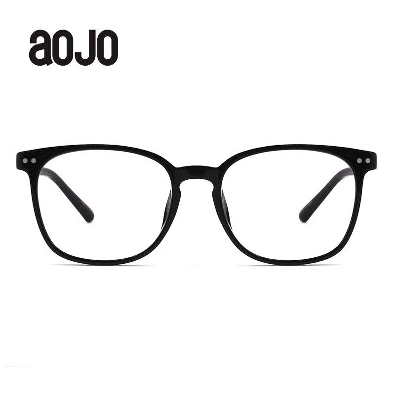 aojo眼镜框架新款FATRE5502 TR90 方框男女同款 近视眼镜 轻盈