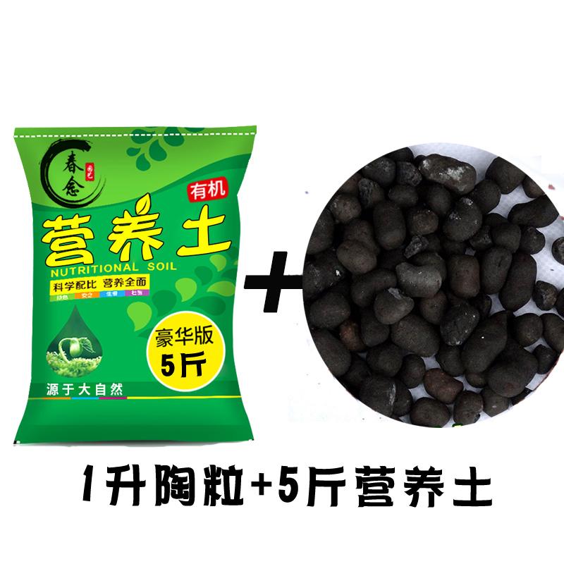 5斤营养土+1L陶粒