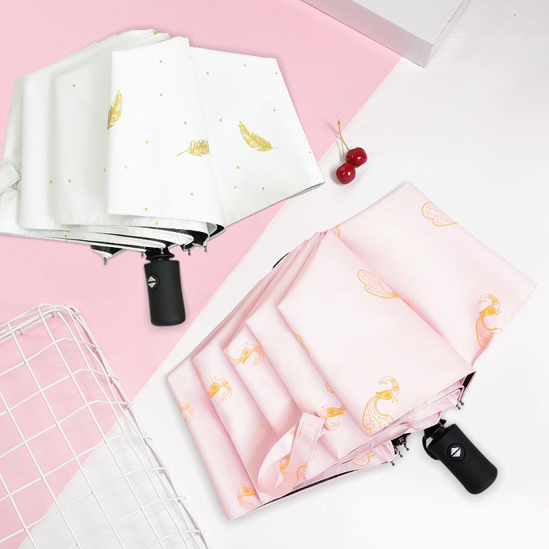 全自动雨伞男大号折叠小巧便携防紫外线防晒遮阳女晴雨两用太阳伞