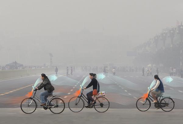 雾霾再年夜能如何?污染氛围的自止车去了