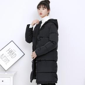 2017冬季女装百搭加厚反季棉衣棉袄外套