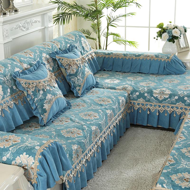 欧式沙发垫四季通用布艺防滑真皮夏季沙发垫现代客厅沙发套坐垫