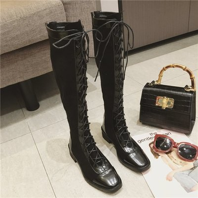 2018 New Autumn Winter Knee High Long Boots Women Shoes Fash...