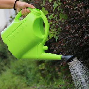 园艺洒水壶 家用大号加厚塑料浇花喷壶5L 9L长嘴淋花壶种菜浇水壶