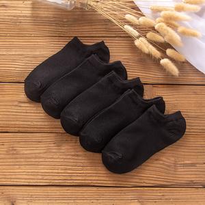 袜子女短袜浅口韩版夏季纯薄款可爱低帮棉船袜夏天硅胶防滑隐形袜