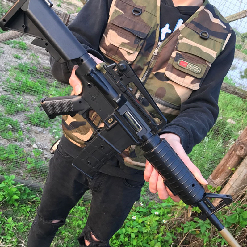仿真阻击枪成人户外外观智能弹匣子弹组合玩具弹夹塑料玩具生日枪