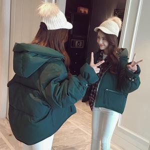 东大门韩版棉衣羽绒棉服女短款面包服2018新款棉袄冬季外套ins潮