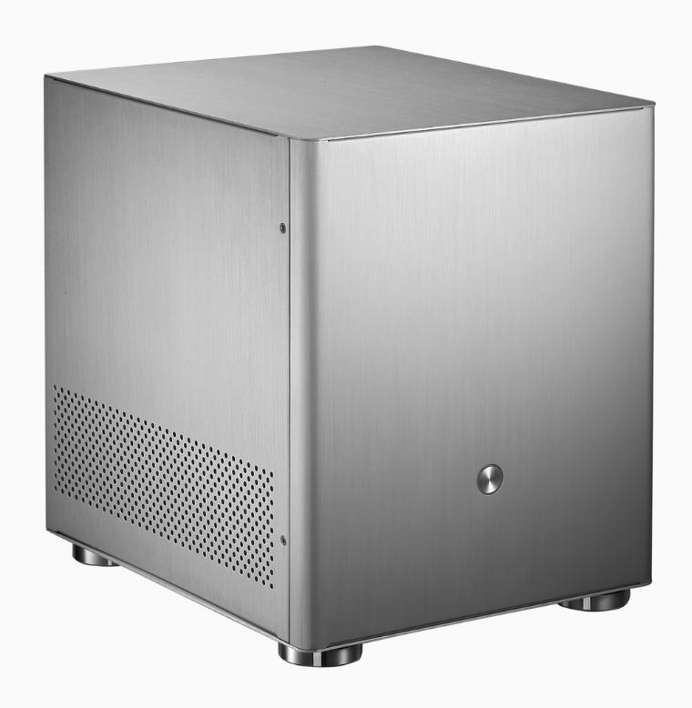 JONSBO乔思伯V4 全铝MATX机箱 迷你机箱台式HTPC机箱ITX小机箱