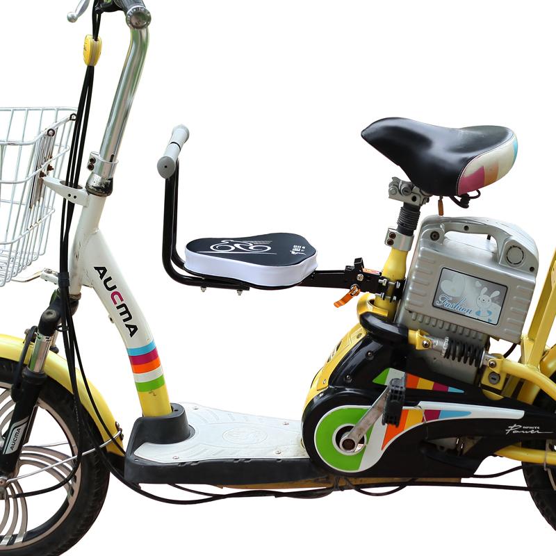 怡佳电动车儿童座椅前置电瓶车儿童座椅宝宝安全座椅可折叠可快拆