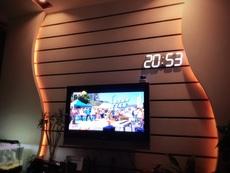 Настенные часы Chi sea 4 LED