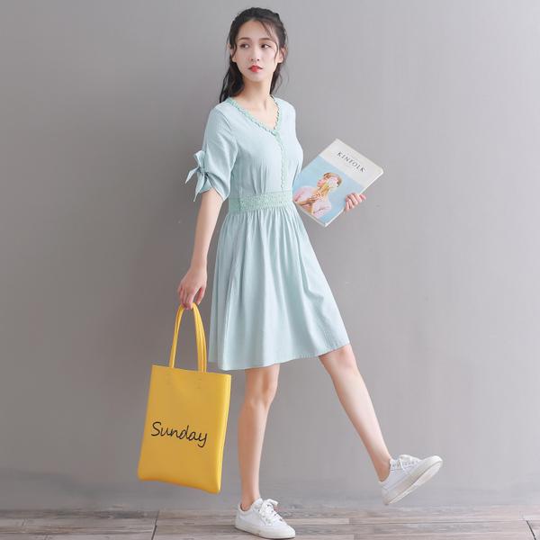 8397实拍新款夏季女装连衣裙