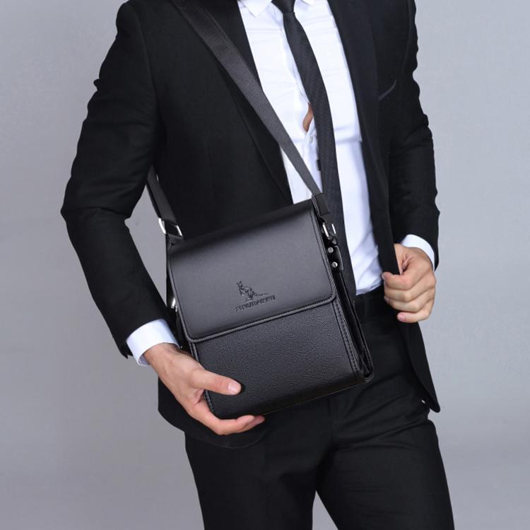 កាបូបយួរដៃបុរស  Business Mens Leather Briefcase Bag Handbags Men Business Bags Office Bags JV0004