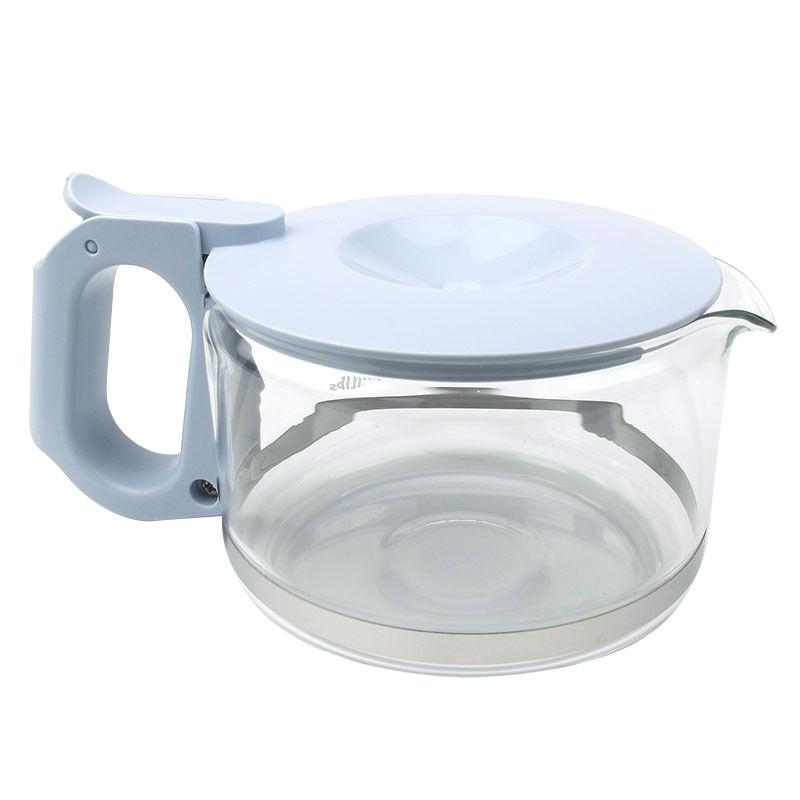 飞利浦咖啡机HD7450咖啡玻璃杯 壶 浅蓝色HD7460 HD7466配件正品