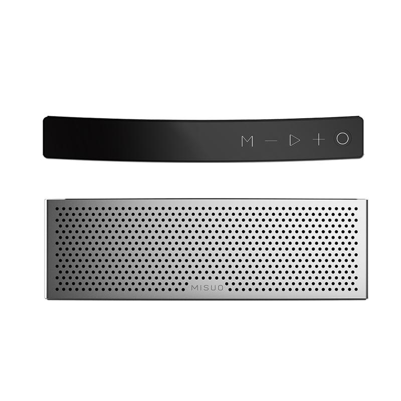 米索 M5蓝牙音箱低音炮迷你便携手机插卡家用便携户外无线小音响