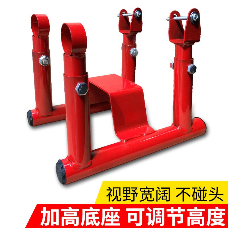 电动摩托车儿童坐椅子前置加高底座小孩电瓶车踏板车安全座椅前座