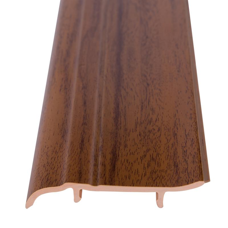 法鹰pvc踢脚线仿实木仿瓷砖地脚线 木地板贴脚线地角墙角线踢脚板