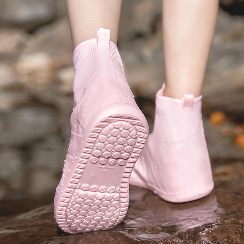 雨鞋套防雨防滑加厚耐磨下雨天防水套鞋成人男女儿童学生雨鞋防雪