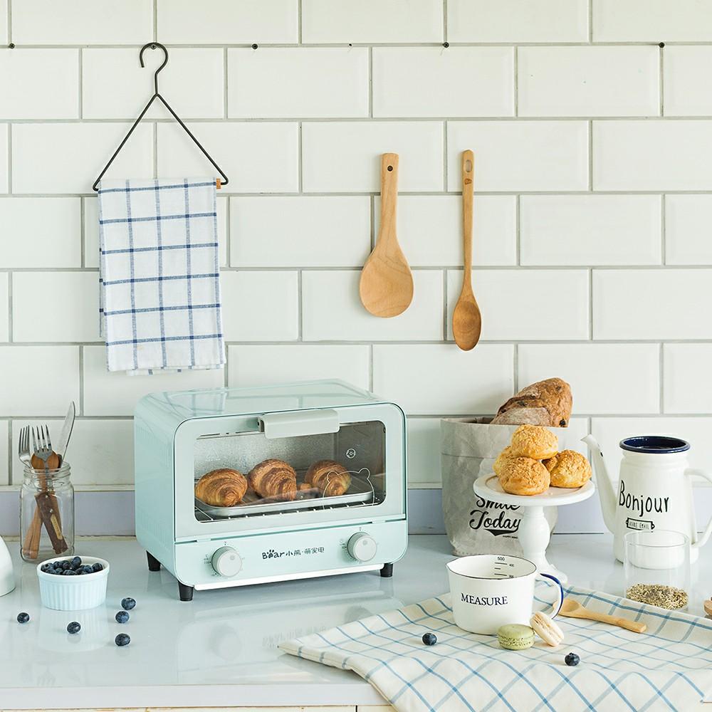 小熊电烤箱家用烘焙蛋糕面包多功能迷你小型全自动电器官方旗舰店