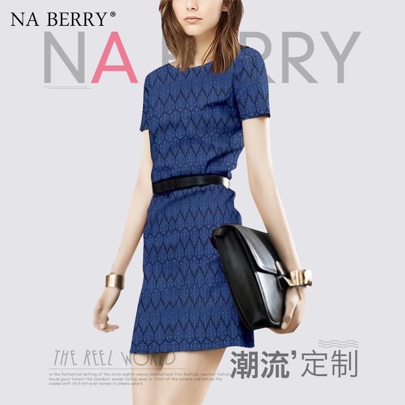 Na Berry休闲时尚连衣裙女夏2020年新款韩版气质收腰显瘦洋气短裙