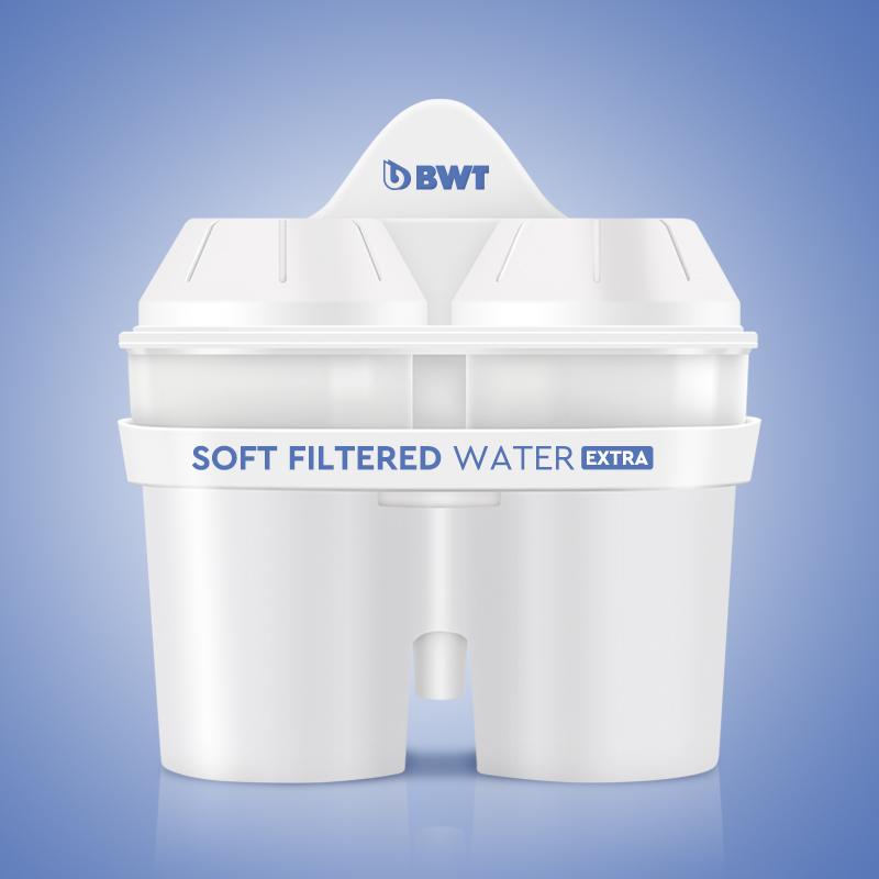 预售 德国bwt原装进口净水壶过滤水壶净水器通用去水垢加强款滤芯