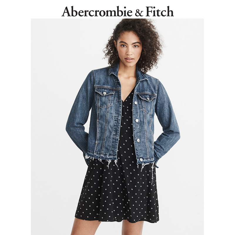 Abercrombie&Fitch女装 牛仔夹克 199009 AF