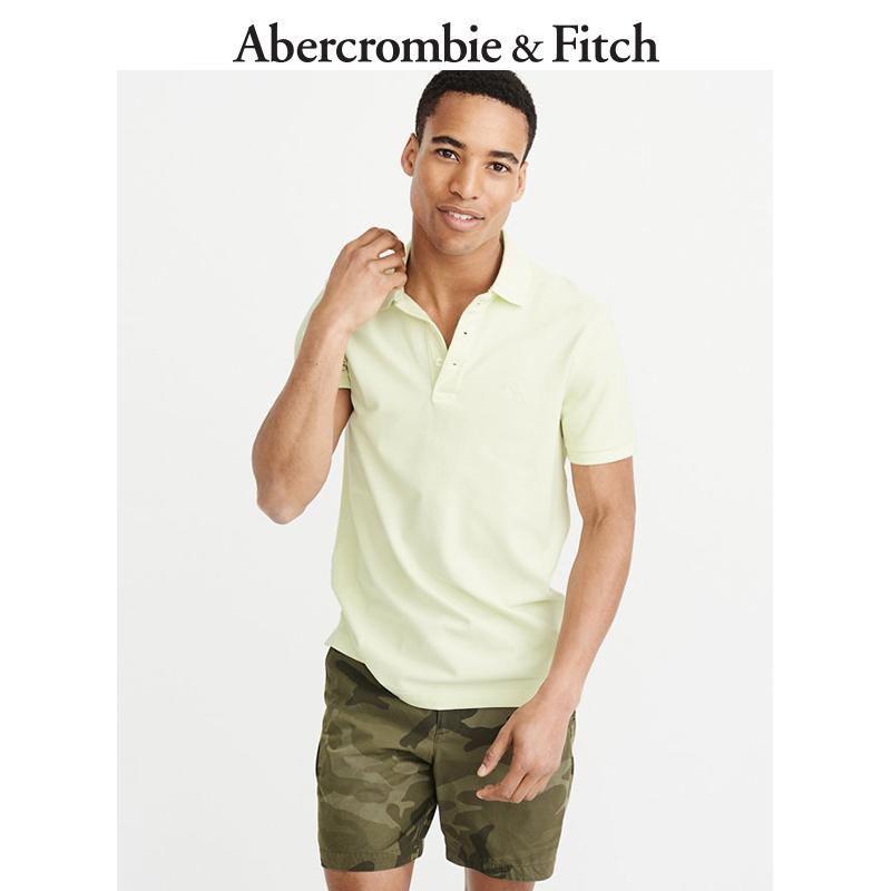 季末特惠Abercrombie&Fitch 男装 标识款弹力 Polo 衫 203391 AF