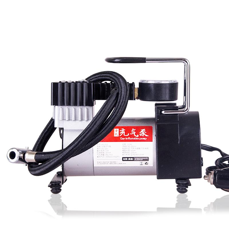 佳艺田 车载充气泵汽车用便携式电动单缸12V小轿车轮胎应急打气筒