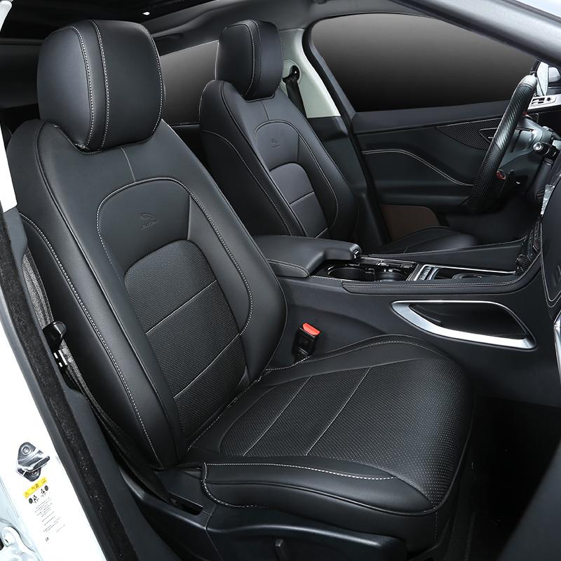 捷豹f-pace改装座套内饰装饰fpace专用四季通用运动款全包围坐垫