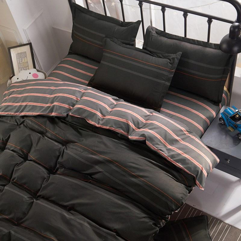Student Bed sheets set quilt duvet cover bedding 4 sets
