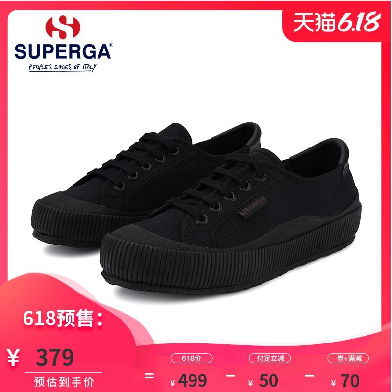 SUPERGA新款男女低帮户外风车轮底新款饼干鞋帆布鞋 S1115MW997,降价幅度20.5%
