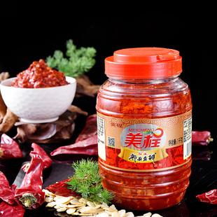 四川特产豆瓣酱瓶装正宗红油辣椒酱郫县豆瓣酱炒菜专用香辣恒丰和