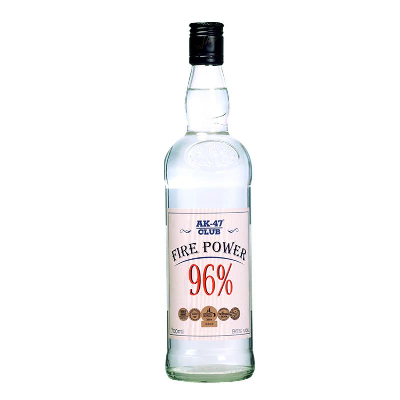 AK47洋酒96°伏特加 高度烈酒生命之水 阿卡47酒 96度酒 700ml