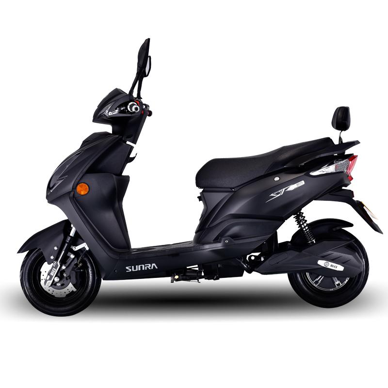 新日sunra电动摩托自行车男女成人60V电瓶踏板助力车豪华款大尚领