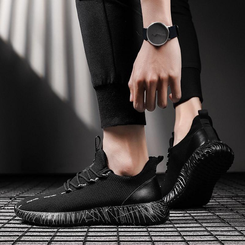 2020新款男鞋夏季韩版潮流男士运动鞋百搭休闲板鞋透气网面椰子鞋