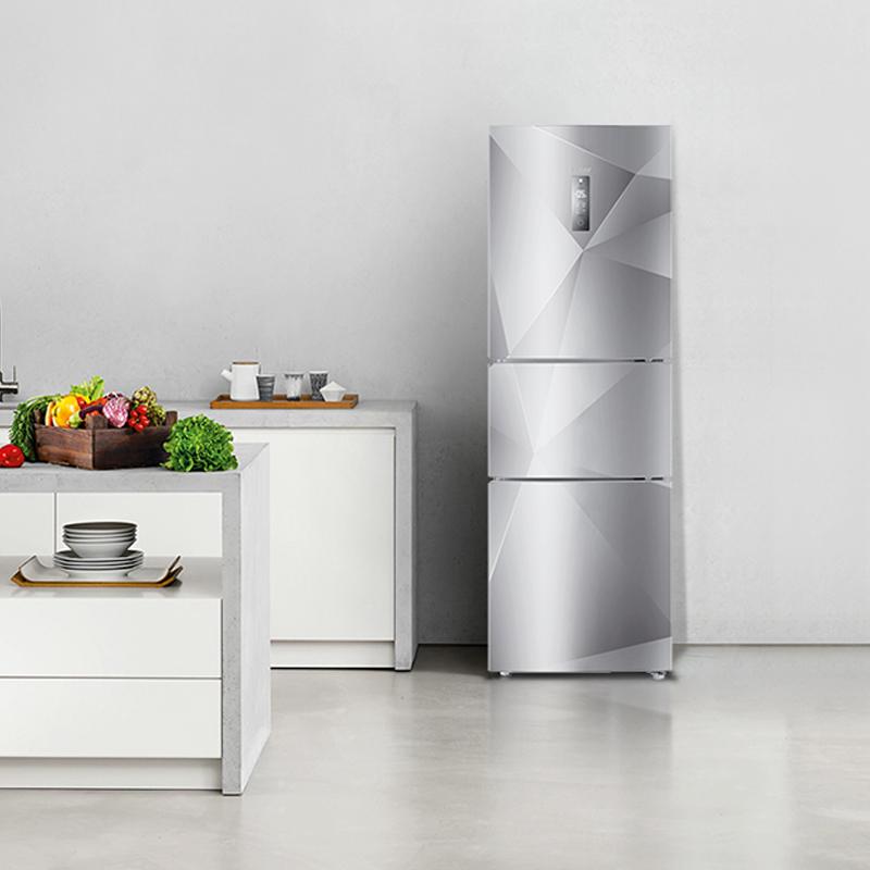 Haier-海尔 BCD-216SDEGU1 智能三门电冰箱三开门式节能家用冷藏
